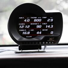 Lufi XF2 OBD2 Multi-functional Gauge Boost Pressure, AFR, Water/Oil Temp etc.