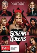 BRAND NEW Scream Queens: The Complete First Season - 4 DVD Disc Set, Season 1