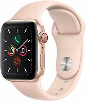 Apple Watch Gen 5 Series 5 Cell 40mm Gold Aluminum - Pink Sand Sport Band