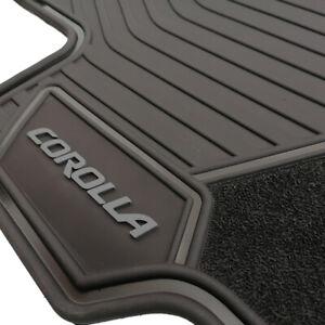 Floor Mat Set of OEM All weather Floor Mats For Toyota Corolla Sedan 2020-2022