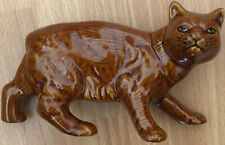 Collectible Vintage Pottery Manx Cat