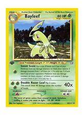 29/111 Bayleef - Neo Genesis - First Edition - Englisch
