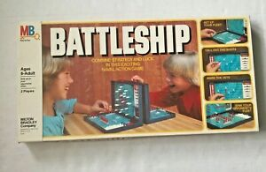 Vintage Traditional 2 Player Battleship Strategy Game - 1978