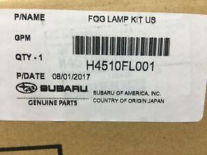 Subaru Fog Light Lamp Kit 2018-2020 Crosstrek XV H4510FL001 Oem New Genuine