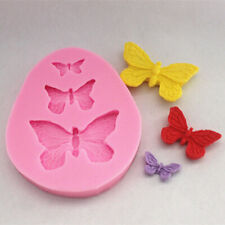 3D Butterfly Silicone Cake Mold Fondant Decor Gadgets Soap Candy Mold Bakeware
