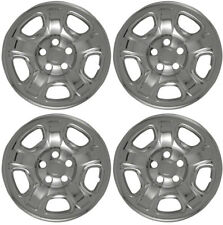 "New Set of 4 16"" Chrome Wheel Skins for 2002-2007 Jeep Liberty 16"" Steel Wheels"