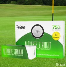 Polara Ultimate Straight Self Correcting Golf Balls - Box Of 12