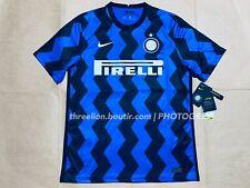 BNWT Nike INTER MILAN MILANO 2020 2021 Home Soccer Jersey Football Shirt CD4240