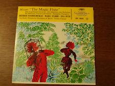 45 tours MOZART THE MAGIC FLUTE DIETRICH FISCHER DIESKAU MARIA STADER LISA OTTO