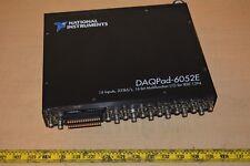National Instruments Ni Daqpad 6052e Acquisition Module Multifunction Daq