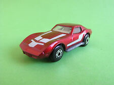 Matchbox Lesney Superfast No 62 Chevrolet Corvette Made In England 1979