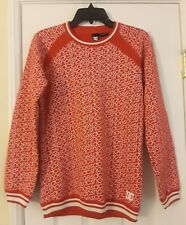 DC Shoes Crewneck Sweater Spellout Red