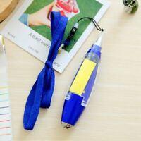 3X(Plastic Ballpoint Pen Creative Ball Pen With Memo Pad Light Lanyard J5L1)