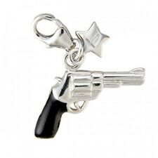 TINGLE LONDON GUN STERLING SILVER CHARM New, Charms, SCH94, Jewellery, Boxed