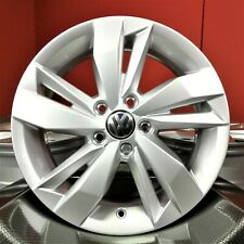 4x ORIGINAL NEU VW Polo 6 VI AW 2G 15 Zoll Sassari AluFelgen Felgen 2G0601025N