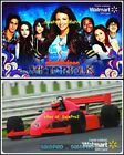 2x WALMART FORMULA 1 CAR RACING NICKELODEON VICTORIOUS COLLECTIBLE GIFT CARD LOT For Sale