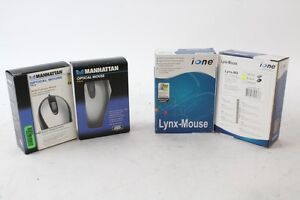 2 Manhattan 4YH-00005 Optical Mouse/ 30+ Ione Lynx mouse