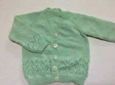 hand knitted cardigan size 1