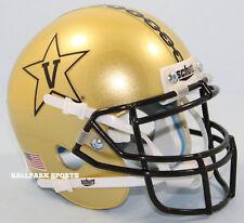 VANDERBILT COMMODORES (GOLD ANCHOR) Schutt XP Mini Helmet