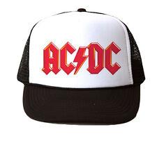 ACDC Hat Mesh Trucker Hat Cap Snapback Adjustable Brand New-Black