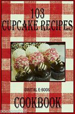 103 Delicious And Fun Cupcake Recipes E-Book Cookbook CD-ROM