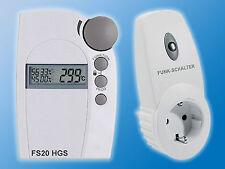 1x Funk Hygrostat SET FS20 HGS 1xFS20 ST | Hygrometer Luftfeuchte Klimasteuerung