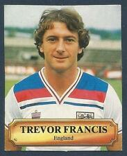 ENGLAND WORLD CUP SQUAD-1981-82-MAKE UNKNOWN-MANCHESTER C-FOREST-TREVOR FRANCIS