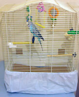 CAGE TIDY For BIRD CAGES AVAILABLE IN FOUR SIZES - MADE IN THE UK