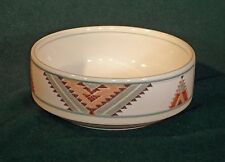 Mikasa Santa Fe CAC24 Fruit/Dessert Bowl, Southwest Design on White