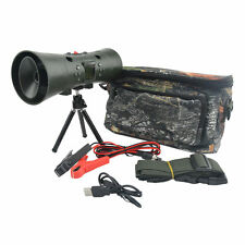 Hunting MP3 Player Bird Caller 35W 130dB Built-in Double Speakers W/ Tripod Bag