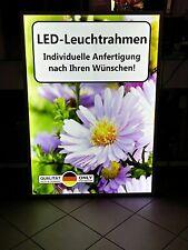 LED Leuchtrahmen, Format DIN A1, Leuchtwerbung, Werberahmen, Posterrahmen