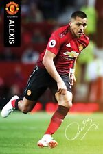 Manchester United FC Poster - ALEXIS 18/19 - New Man Utd Football poster SP1543