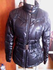 DOUDOUNE chaud plume et duvet GEOX noir - Manteau T 38
