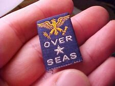ORIGINAL WWII HOMEFRONT SON OVERSEAS RIBBON BAR PIN