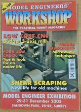 Model Engineers' Workshop Magazine No.109 October 2005 good condition 1st Post