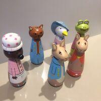 Peter Rabbit Wooden Figures Toy Beatrix Potter