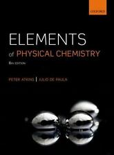 Elements of Physical Chemistry, Atkins, Peter, de Paula, Julio, New Book
