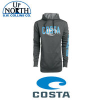 Costa Del Mar Monterey Hooded Gray Sweatshirt Various Sizes Free Shipping