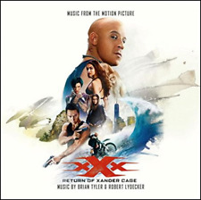 OST-XXX: RETURN OF XANDER CAGE-JAPAN CD F30