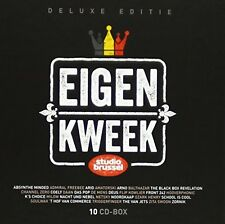 STUDIO BRUSSEL, EIGEN KWEEK, 10 CD DELUXE BOX SET, 200 BELPOP CLASSICS (NEW)