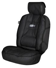 Sumex Lumbar Support Protection Car Front Cushioned Seat Cover - TUN Black #70