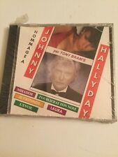 HOMMAGE A JOHNNY HALLYDAY PAR TONY BRAM'S CD NEUF SOUS BLISTER