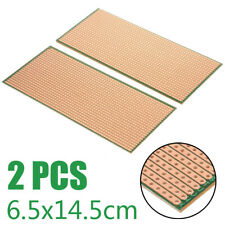2pcsset Stripboard Veroboard Uncut Pcb Platine Circuit Perf Board Accessories