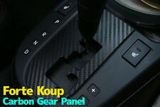 3D Carbon Gearbox Panel Decals Stickers for Kia 11 12 2013 Cerato / Forte - Koup