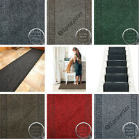 Premium Non-Slip Rug Door Mat Carpet Runner Hallway Stair Car Boot Cut To Length