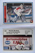 1990-91 7Sketch #222 Martin Brodeur  pre-RC RARE