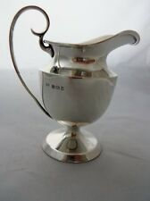 Antique English Sterling Silver Cream Milk Jug
