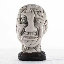 Erotic Head Sculpture, extremly tactile. Art,Gift, Ornament. Made in England.