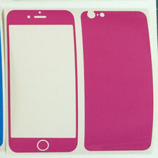 """iPhone 6 4.7"""" 3M Coloured Glossy Vinyl Skin Sticker Package, Bumper + Protector"""