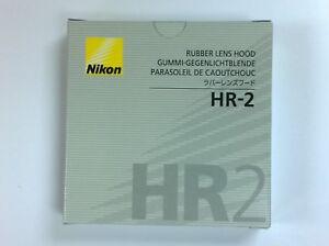 Original Neu Nikon HR-2 Sonnenblende für AF Nikkor 50 mm f/1,8 D AI-S 50mm f/1.4
